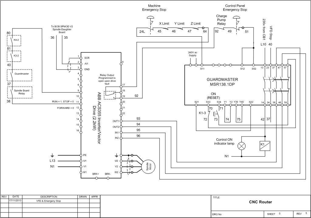 diy cnc wiring diagram