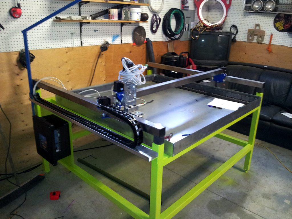 plasma table build in Canada