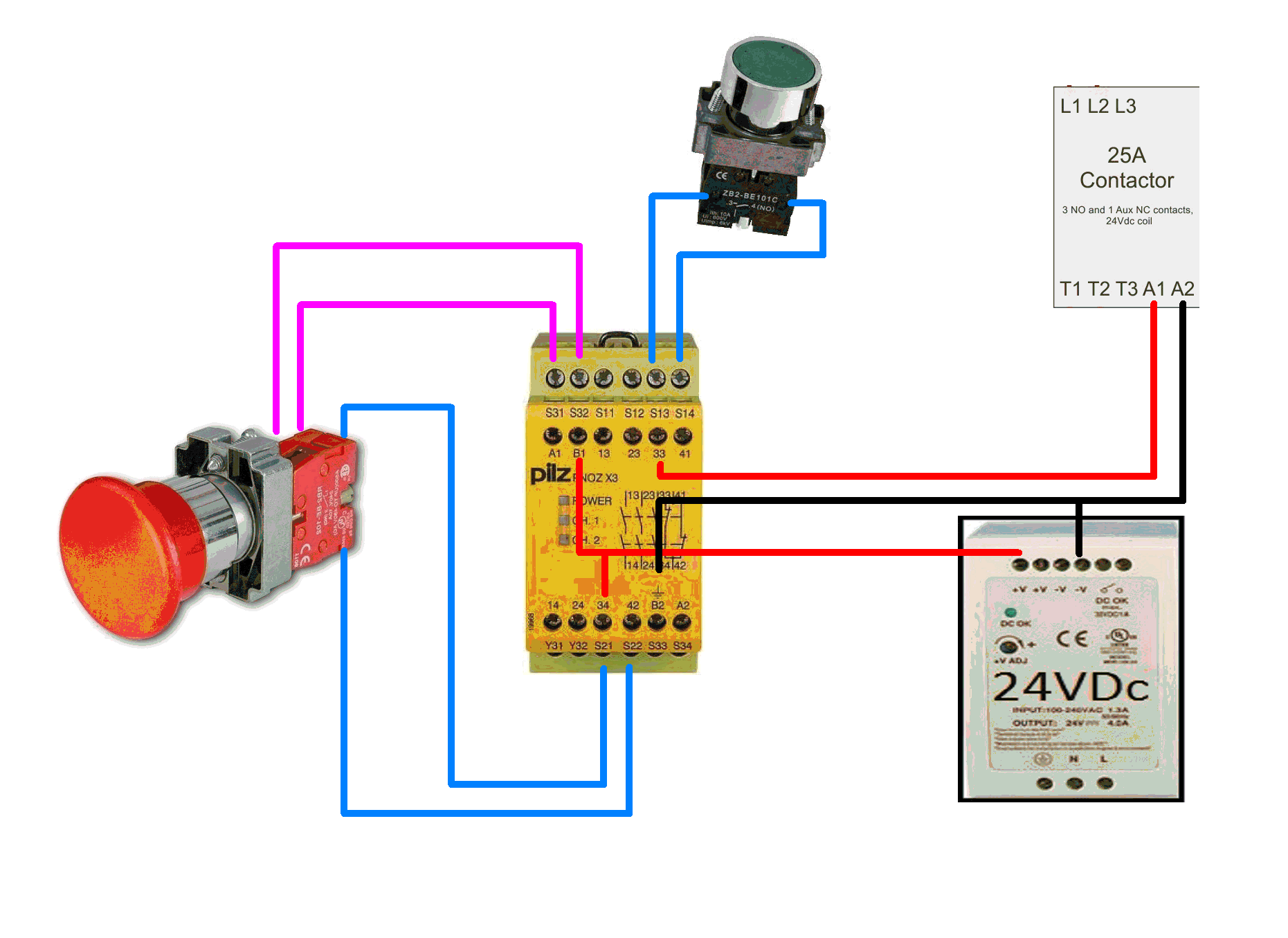 Build Log Comments Sought On New A Cnc Router For Rc Gliders Contactor Wiring Diagram Uk Like This Attachment 14964