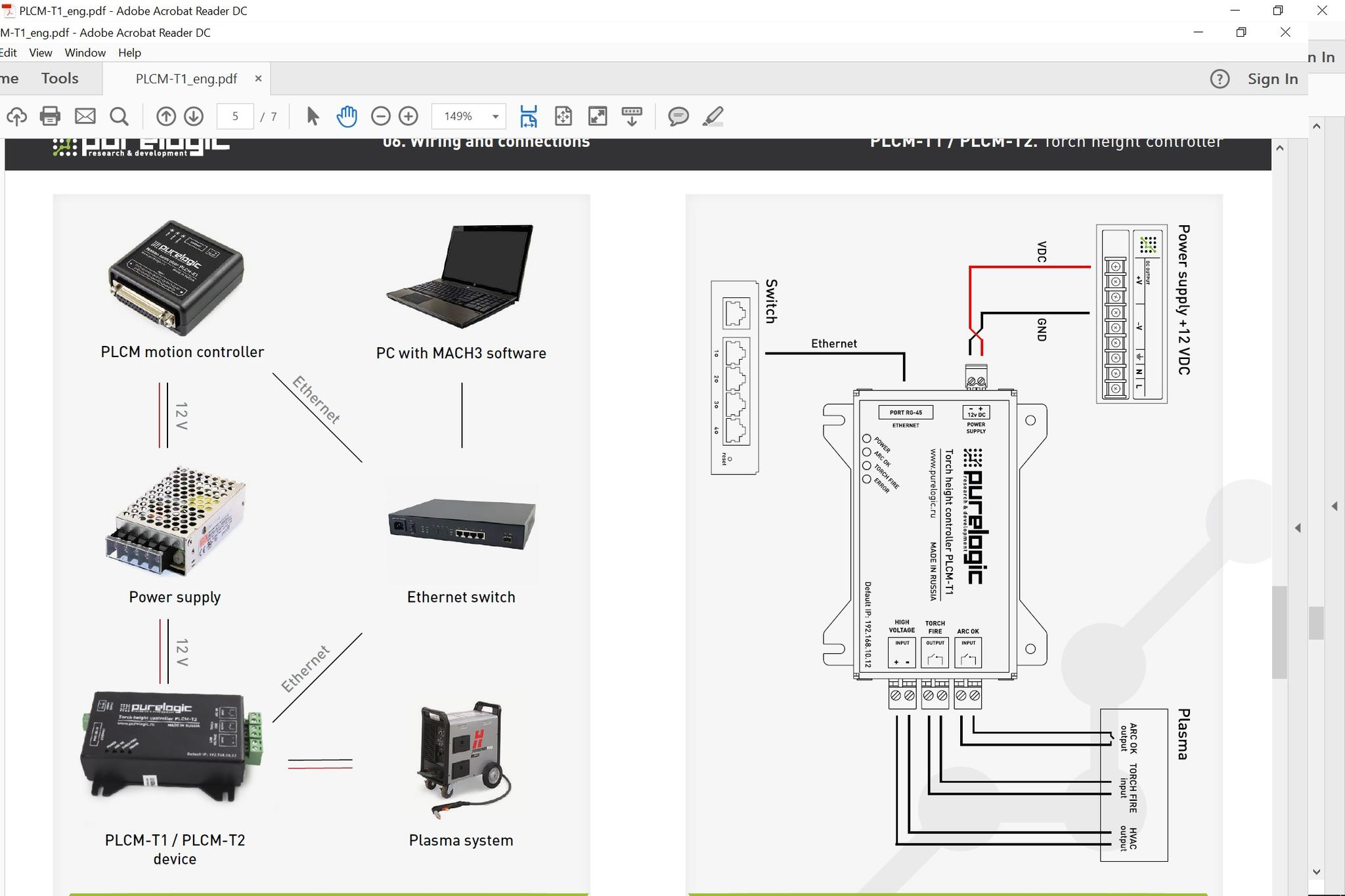 Next Stage Is Plasma Add On Cnc Thc Wiring Diagram Click Image For Larger Version Name Hyperthc Views 111 Size