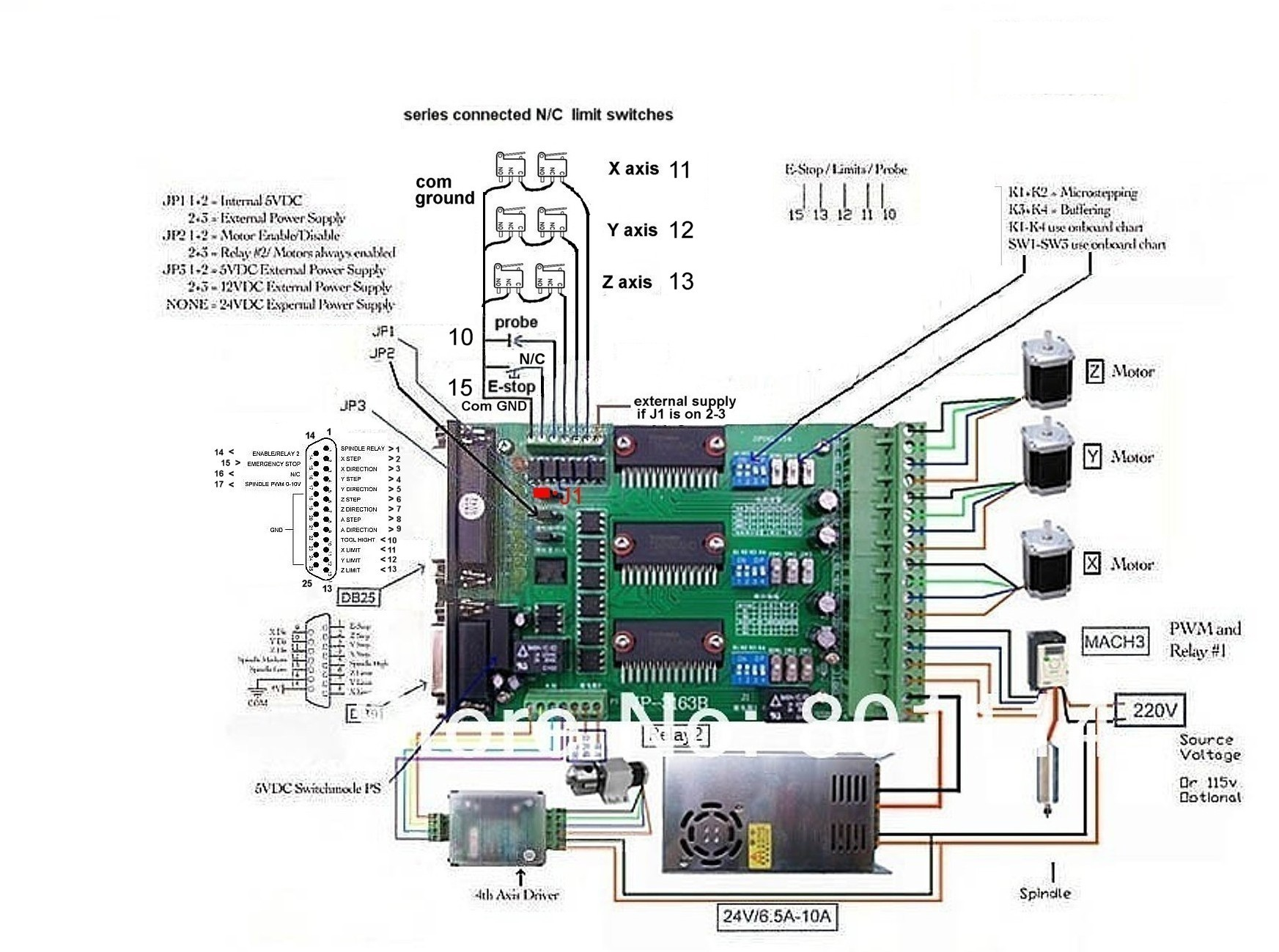 Need Help Cnc6040z Usb Limit Switch Wiring Diagram Name Connections V2 Views