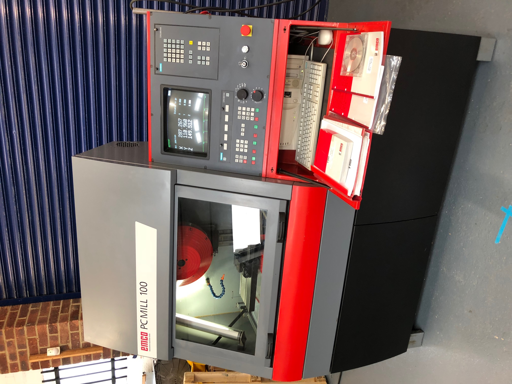 FOR SALE: FOR SALE Emco Pc Mill100 CNC milling machine, as new condition
