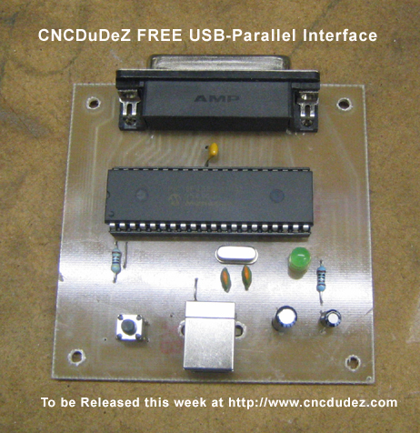 USB TO Parallel Port DIY Interfacemycncuk