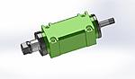 Click image for larger version.  Name:0.75KW 1 HP 3000-8000rpm Power Spindle.jpg Views:48 Size:50.2 KB ID:25332