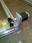 Click image for larger version.  Name:nema 23 Y axis mount.jpg Views:882 Size:523.4 KB ID:22687